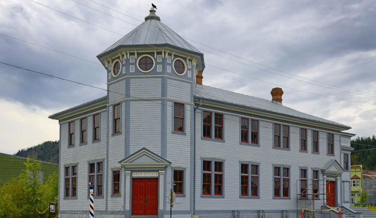 Batiment historique a Dawson city
