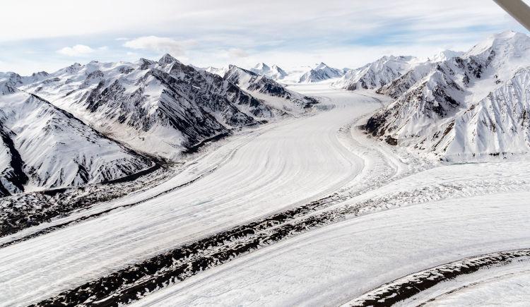 Glacier Kaskawulsh Haines Junction