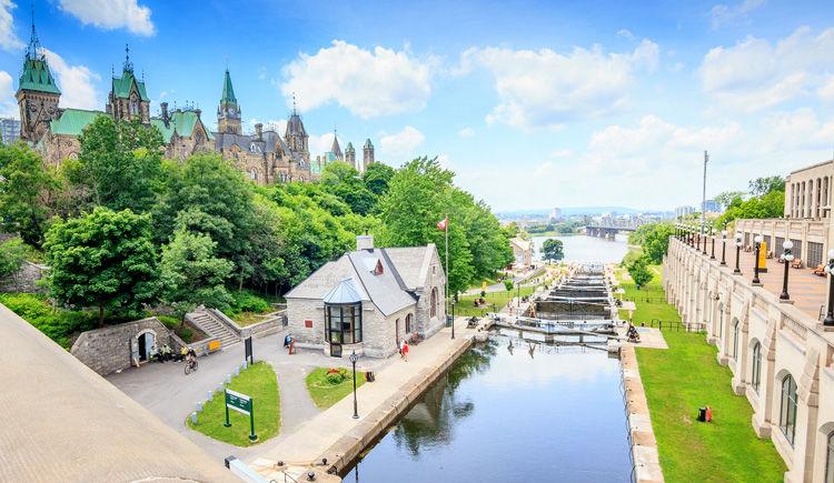 Canal Rideau a Ottawa