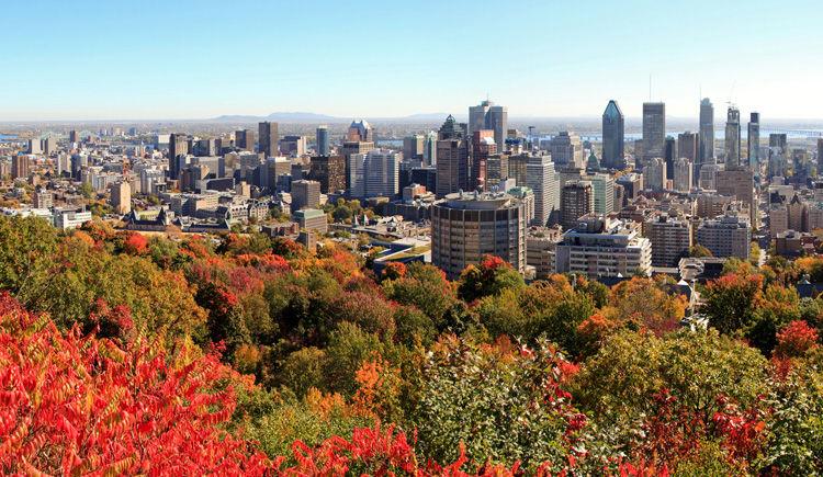 Montreal vue de Mont Royal
