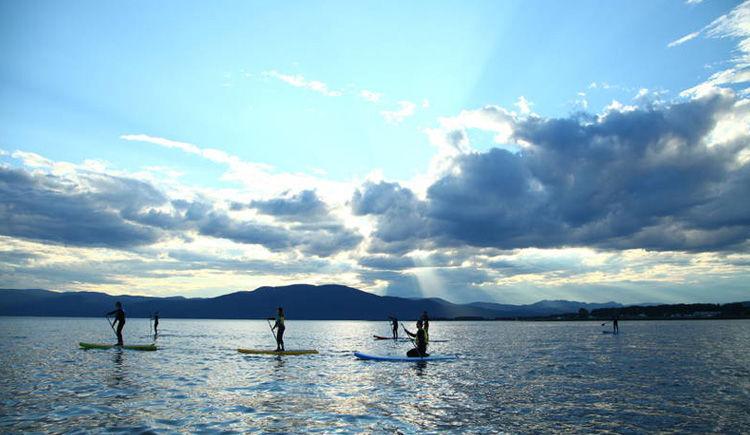 initiation au Paddle Board