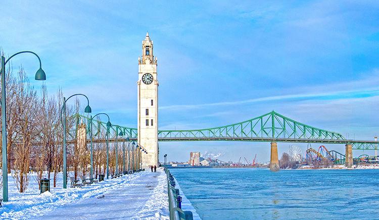Montreal pont Jacques-Cartier