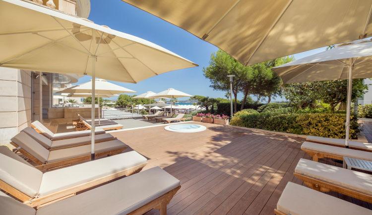 terrace piscine