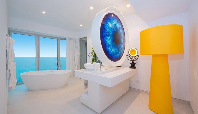 chambre souble salle de bains
