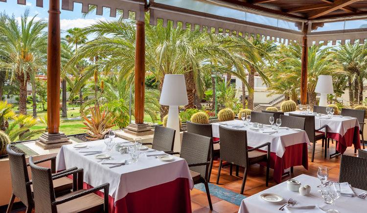 restaurant Roque Nublo terrasse