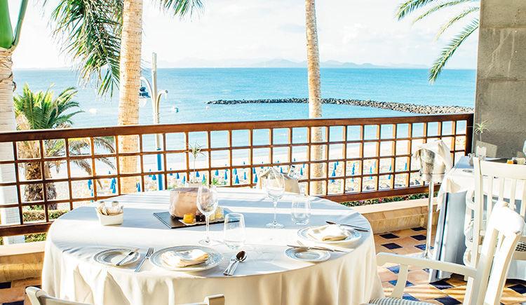 restaurant Isla de lobos terrasse