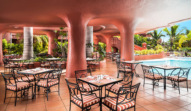 restaurant El Parador terrasse