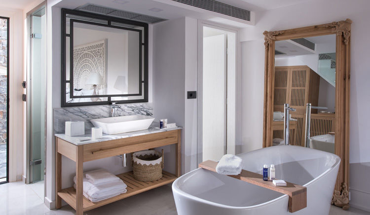 salle de bain Loft Luxury Guestroom