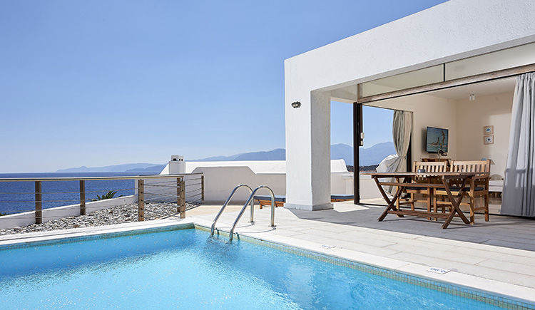 classique suite piscine privee vue mer