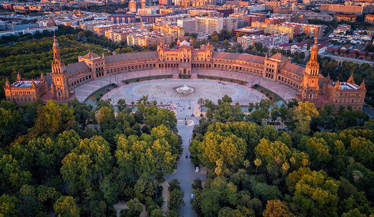 Seville Plaza de Espagna