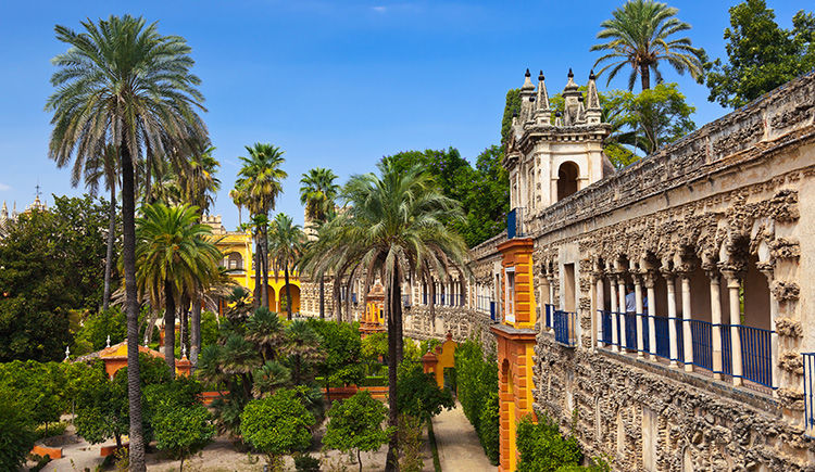 jardin de Real Alcazar