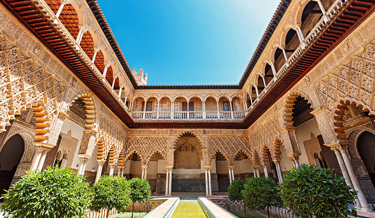 patio du Real Alcazar