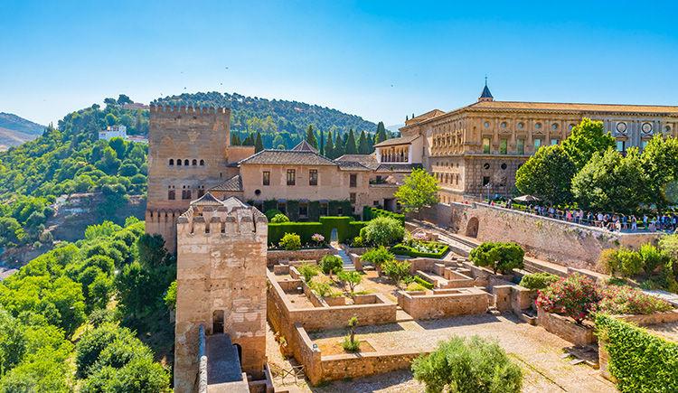 Palais de l Alhambra a Grenade