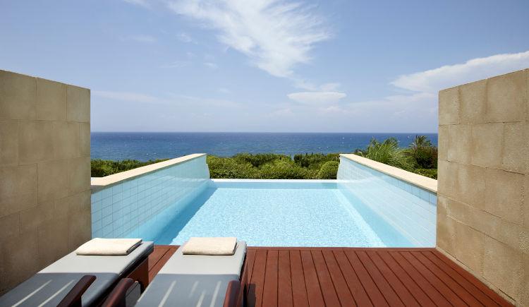 Elite suite vue mer avec piscine