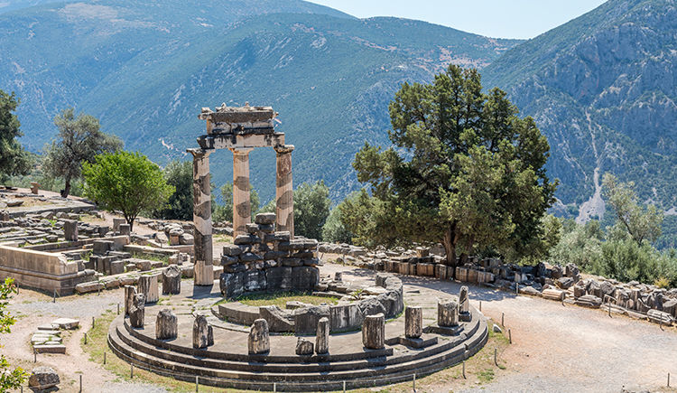 Tholos Delphes