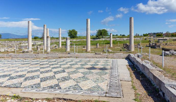 ruines de Pella