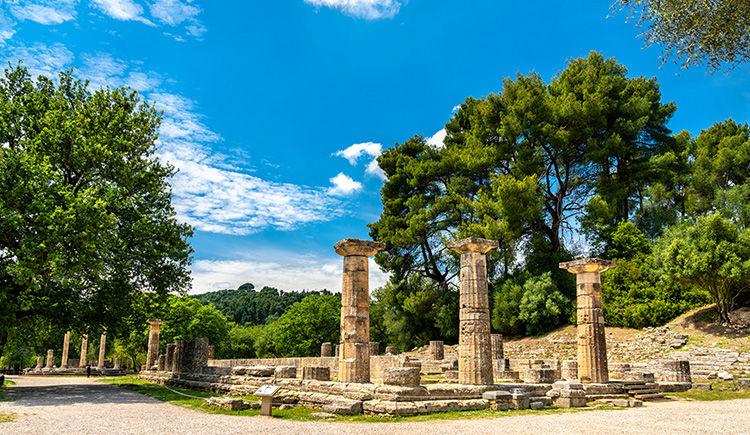 site archeologique Olympie