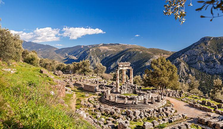 ruines de Delphes