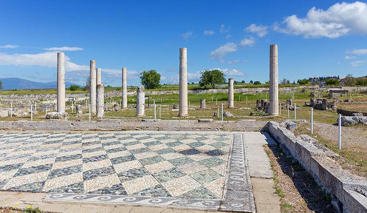 site archeologique de Pella