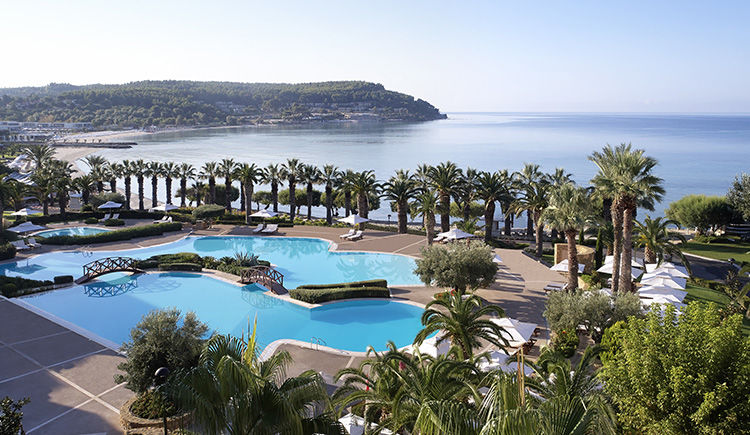 Sani Beach piscine