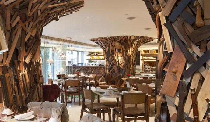 restaurant new taste new hotel