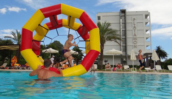 Jeux piscine enfant