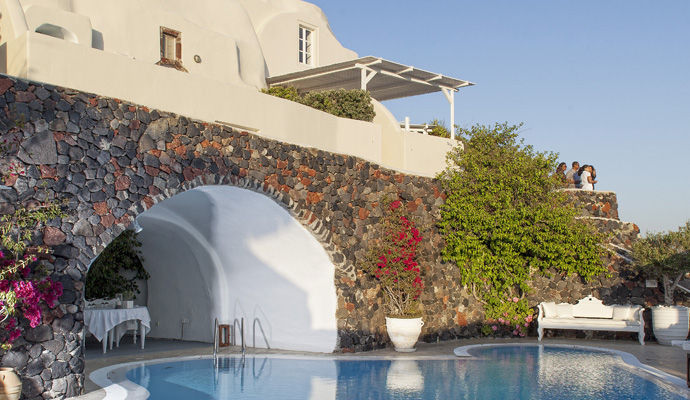 piscine canaves oia suites