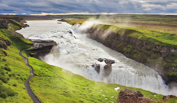 cascade de Gullfoss