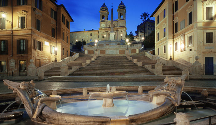Art by The Spanish Steps 4 *