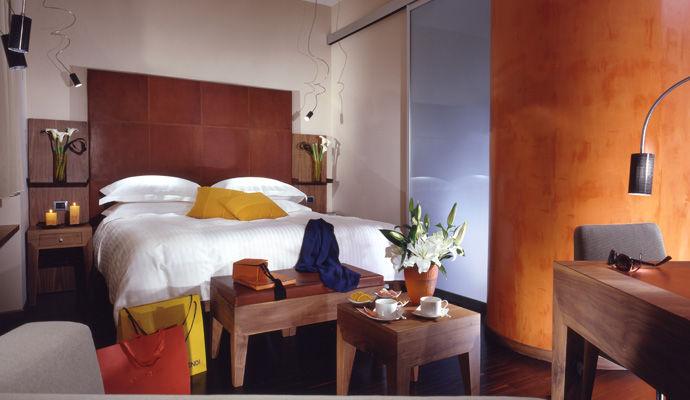 chambre standard orange