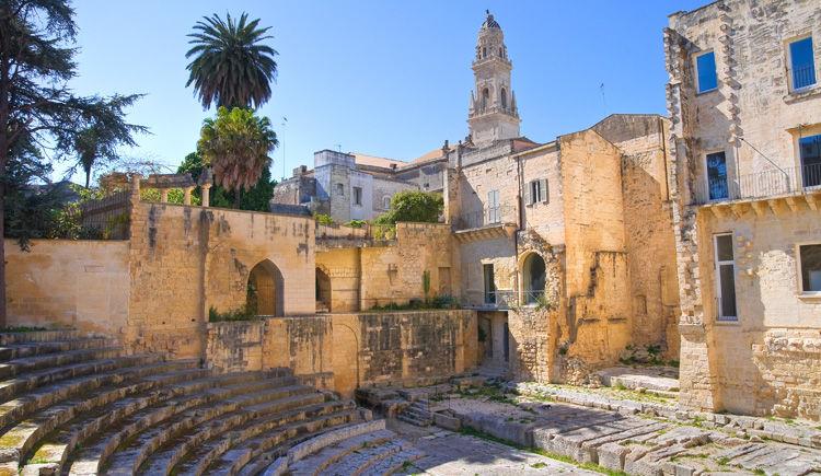 Lecce theatre romain