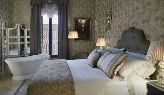 chambre vue grand canal