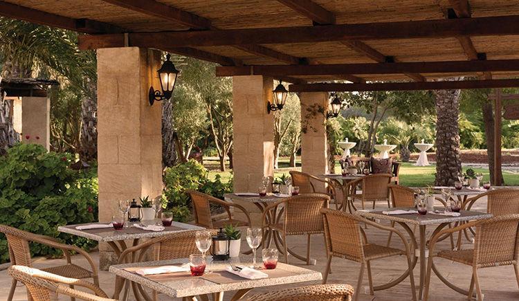 Kempinski San Lauwrenz restaurant Gazebo