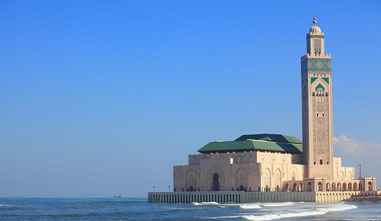 Casablanca mosquee Hassan II