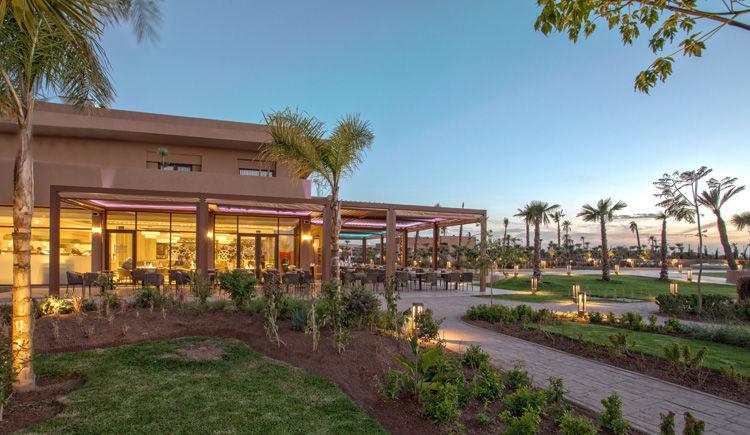 terrasse restaurant buffet