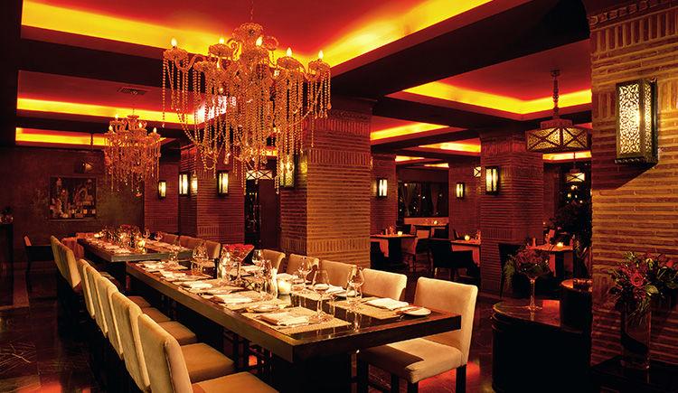Sofitel Marrakech restaurant