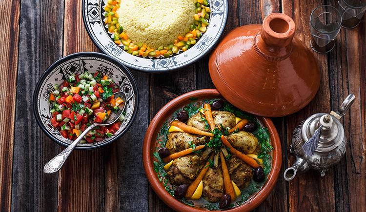 repas marocain