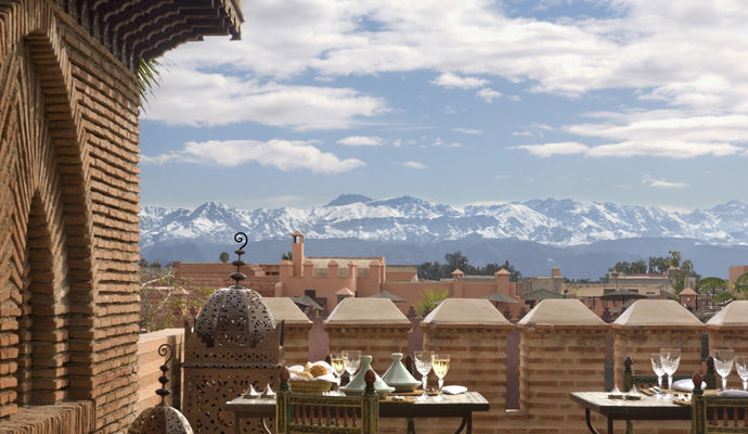 la sultana marrakech terrasse