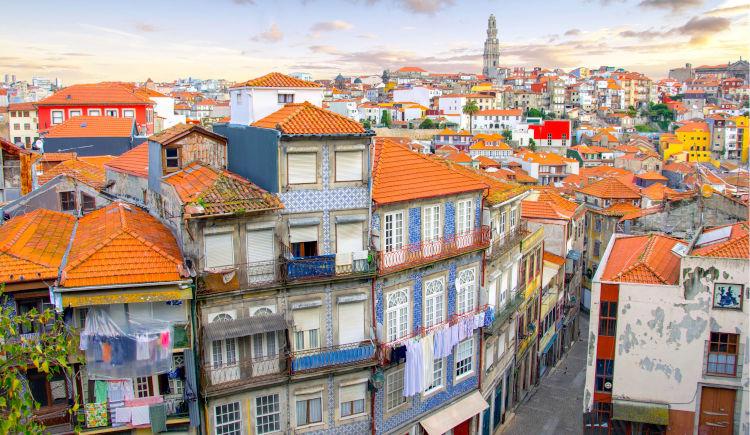 Porto vue aerienne