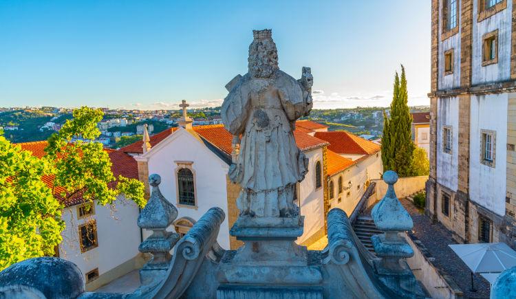 Coimbra vue aerienne