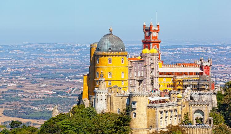 Lisbonne Sintra Palace Da Pena