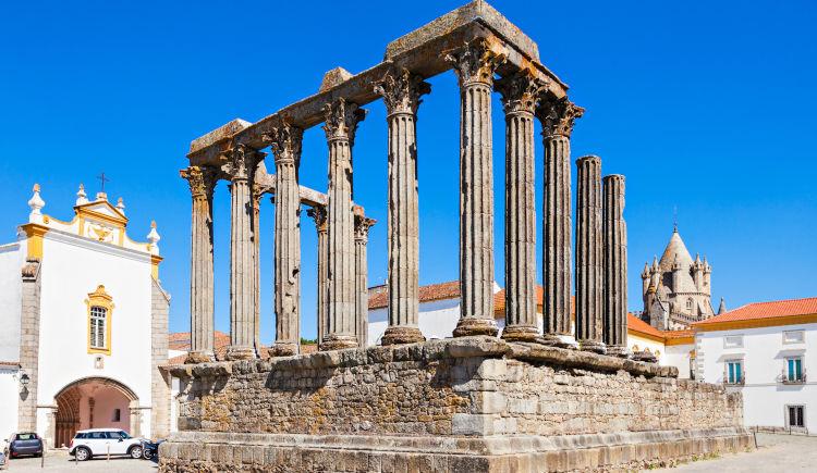 Evora ruines