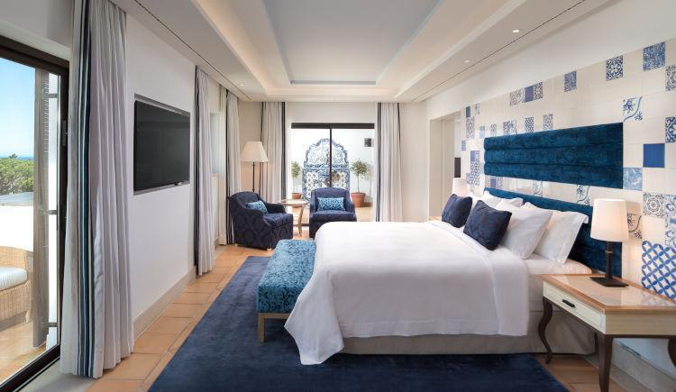 Neptuno suite bedroom