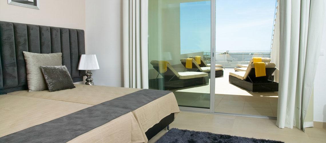 beachfront chambre