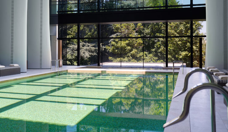 Spa piscine interieure