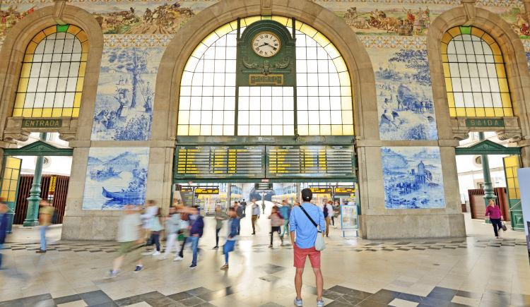 Lisbonne station Sam Benito