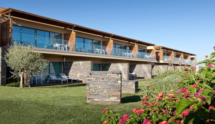 Deluxe garden suite duplex