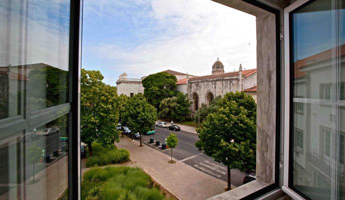 vue sur le monastere jeronimos