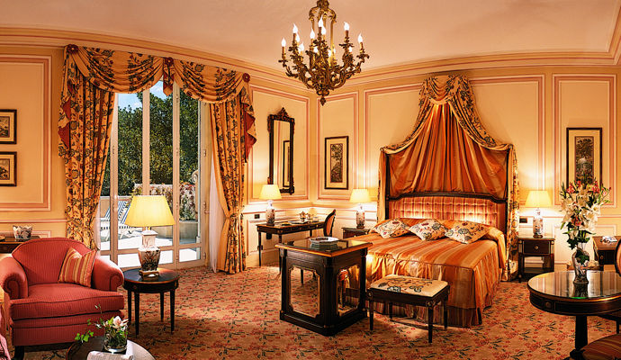chambre deluxe aile palace