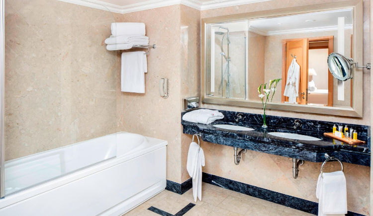 presidential suite salle de bain